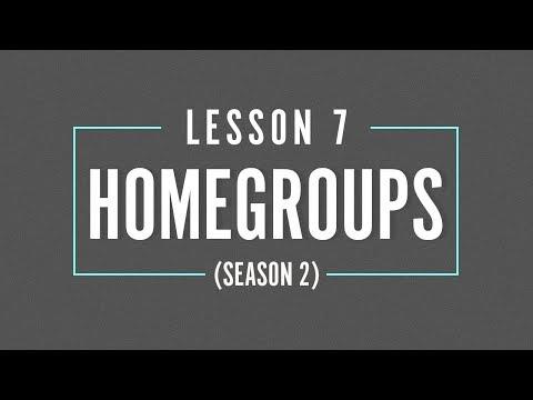 HOME GROUP Season 2 - LESSON 7 - Career vs Calling