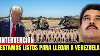 DONALD TRUMP ESTA LISTO PARA AYUDAR A VENEZUELA - NICOLAS MADURO