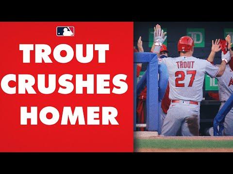 Mike Trout ANNIHILATES home run! Angels' star CRUSHES homer for 3rd straight game!