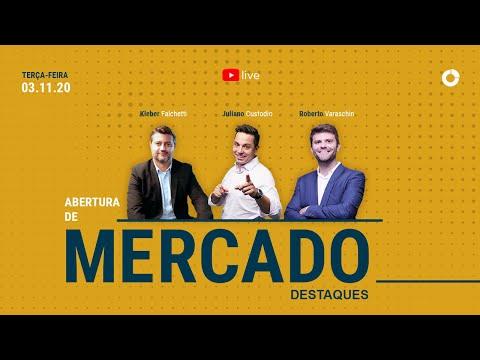 Destaques da Live: Abertura de Mercado - SEG 03/11