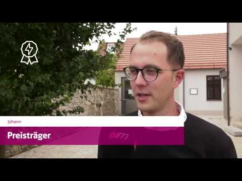 Bürgerenergiepreis Unterfranken 2019: Preisträger Johannes Hemmelmann aus Himmelstadt