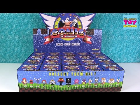 Sonic The Hedgehog Vinyl Mini Series Full Case Unboxing Chase Figure | PSToyReviews - UCZdJCx_zEqvOI7RFG-mWmuw