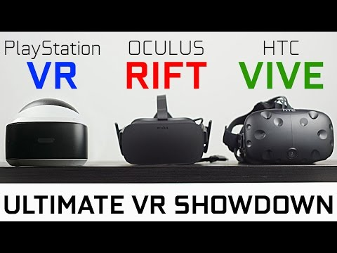 PlayStation VR vs Oculus Rift vs HTC Vive - Which One is Best? - UCvIbgcm10GqMdwKho8C1Zmw