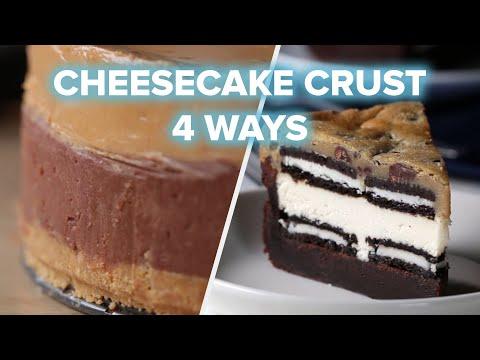 Cheesecake Crust 4 Ways ?Tasty
