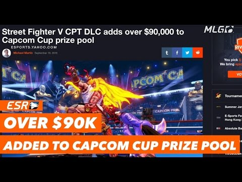Capcom Cup 2016 Prize Pool Grows by Over $90,000