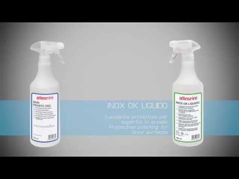 Allegrini kit pulizia + lucidatura + protezione acciaio