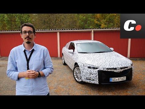 Opel Insignia  2017 | Primera prueba / Presentación dinámica / First Drive / Preview | coches.net