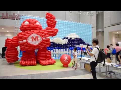 The Sights and Sounds of Maker Faire Tokyo - UChtY6O8Ahw2cz05PS2GhUbg