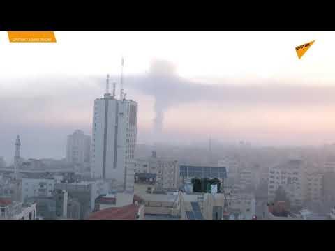 İsrail'in Gazze'ye bombardımanı sürüyor
