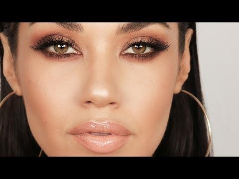 Matte Brown Smokey Eye Makeup Tutorial | Get Ready With Me | Eman - UCaZZh0mI6NoGTlmeI6dbP7Q