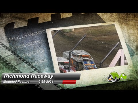 Richmond Raceway - Modified Feature - 9/25/2021 - dirt track racing video image