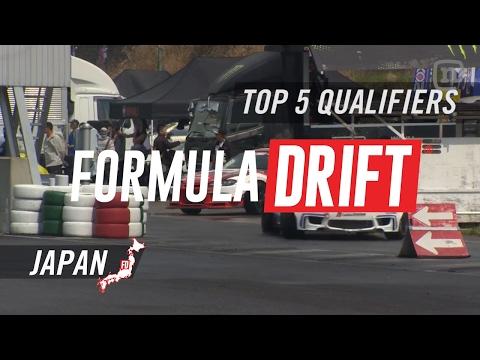 Formula Drift Japan Round 1 - Top 5 Qualifiers