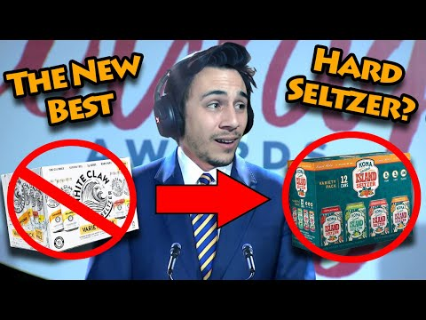 The New King of Seltzer?  Kona Hard Seltzer review