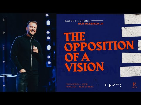 Rich Wilkerson Jr  Bricklayers: The Opposition of a Vision