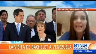 Bachelet debe decir que en Venezuela se están cometiendo delitos de lesa humanidad: Tamara Suju