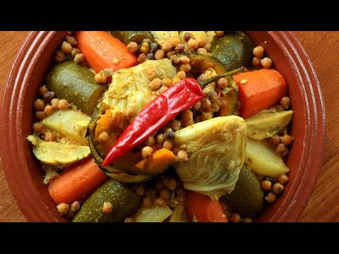 Couscous with Seven Vegetables / كسكس سبع خضار - CookingWithAlia - Episode 423 - UCB8yzUOYzM30kGjwc97_Fvw