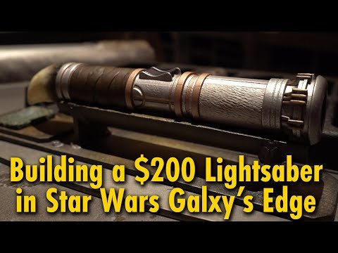 We Built a $200 Lightsaber at Star Wars: Galaxy's Edge | Disneyland - UCbFqSGIcm2bI71hM7M1Om5Q