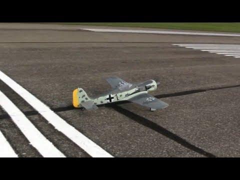 Flyzone Focke-Wulf Fw 190 Review - Part 1, Intro and Flight - UCDHViOZr2DWy69t1a9G6K9A