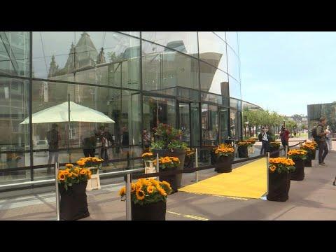 Amsterdam's Van Gogh museum reopens after virus lockdown | AFP