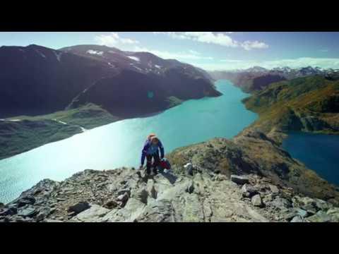 Hiking the Besseggen Ridge in Norway