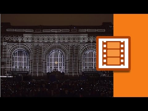 Projection Mapping Union Station's History | Lynda.com from LinkedIn