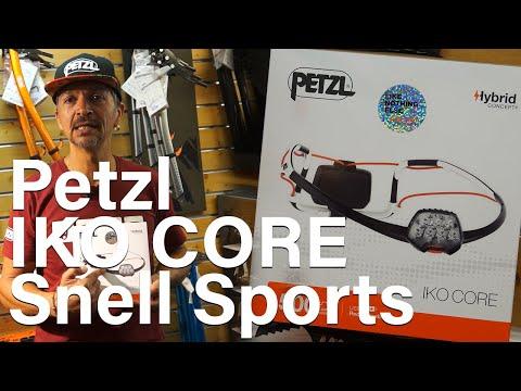 Iko Iko Core Petzl lampes frontales Snell Sports Chamonix Mont-Blanc matériel montagne alpinisme