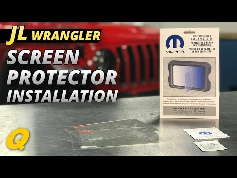 Mopar UConnect Screen Protector Review and Installation for 2018 Jeep Wrangler JL