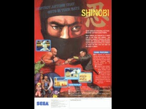 BITeLog 0076: Shinobi (ARCADE) LONGPLAY