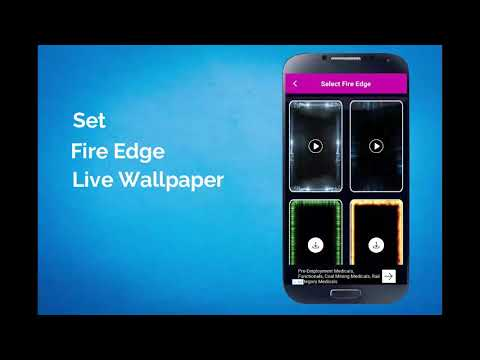 Borderlight Live Wallpaper - Magical Edge Lite New Update
