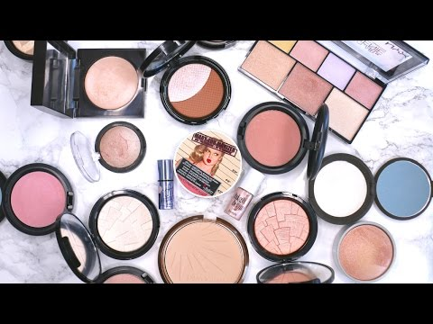 Decluttering My Makeup Collection: Highlighters | Beauty with Emily Fox - UCp3_Zq16GNd-uBVHM8hYQlg