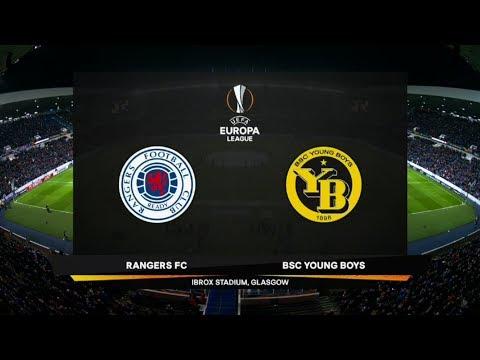UEFA Europa League   Glasgow Rangers v BSC Young Boys   Highlights