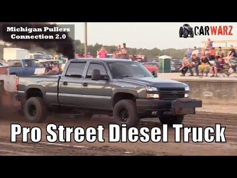 Pro Street Diesel Truck Class From West Michigan Pullers In Hastings 2018