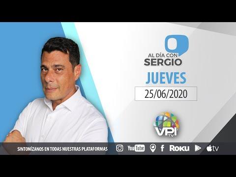 EN VIVO - Al Día con Sergio Novelli - Jueves 25 de Junio