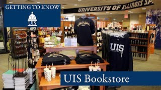 Getting to Know UIS: Bookstore