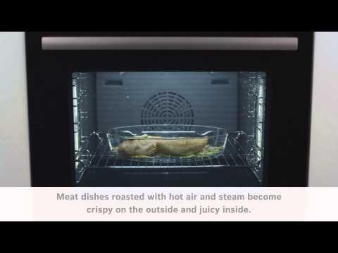 Dampfunksjoner i Bosch Serie 8 ovner