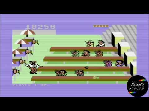 ESPECIAL 100 SUSCRIPTORES!!! Tapper para Commodore 64 - Review de RETROJuegos por Fabio Didone