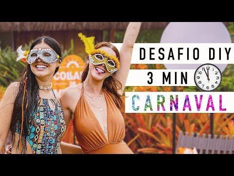 Desafio DIY :: Dica pra arrasar no Carnaval em 3 min! #COLLABSVERAO