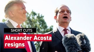 Alexander Acosta announces resignation