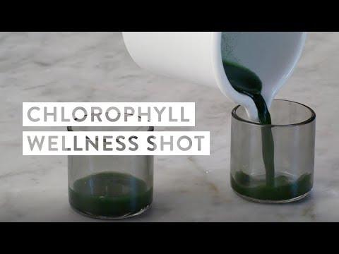 Chlorophyll Wellness Shot Recipe
