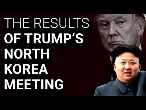 Trump & Kim Jong-Un Sign Vague Deal of No Substance Whatsoever