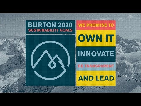 Burton 2020: Sustainability Goals