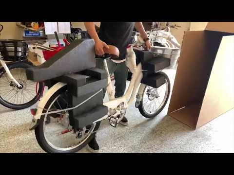 Electric Bike Company - Packaging our Bikes