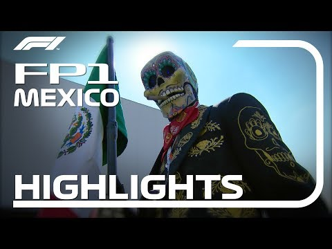 2018 Mexican Grand Prix: FP1 Highlights