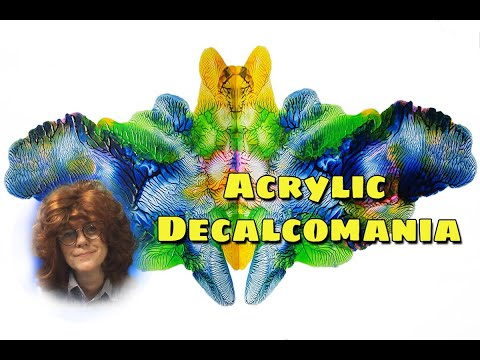 ( 1008 ) Acrylic Decalcomania