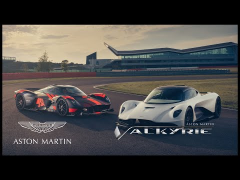 Aston Martin Valkyrie and Valhalla take flight