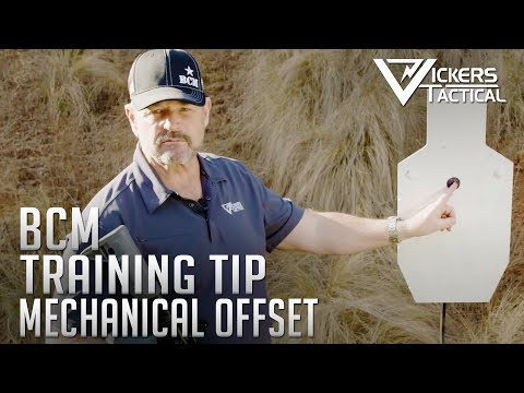 BCM Training Tip - Mechanical Offset