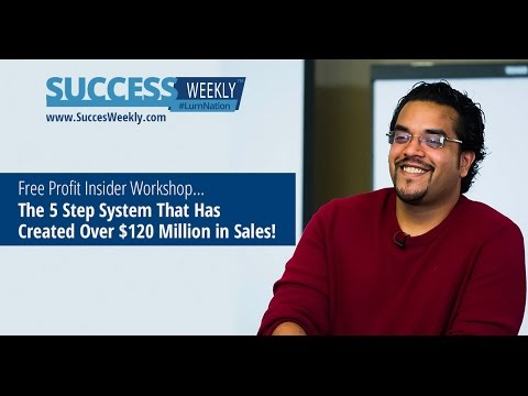 #SuccessWeekly - FREE Workshop: The Exact Formula I Used To Make My First $36,000 in 5 Days