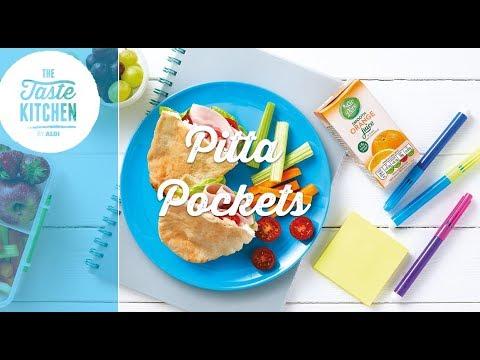 Back to School - Pitta Pockets