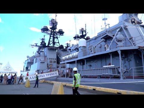 WATCH: Aboard the Russian warship Duterte inspected