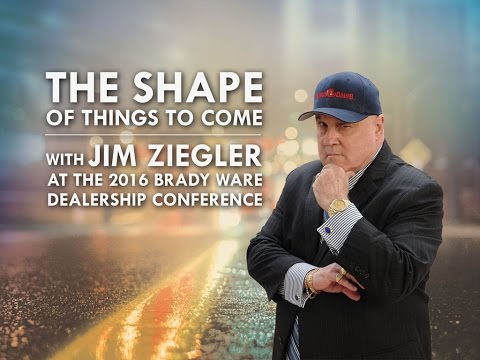 Jim Ziegler's The Shape of Things to Come - 2016 Edition